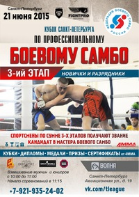 Кубок Санкт-Петербурга по Миксфайту(ПБС)-3 этап