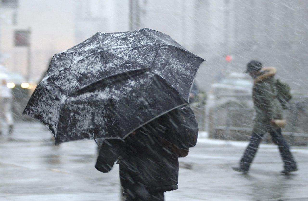 В Ростовской области ожидается ухудшение погоды: дождь и мокрый снег