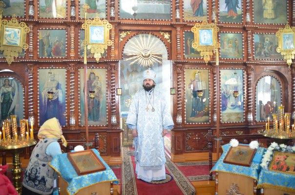 В Покровском храме станицы Кардоникской помолилсь за мир на Украине и в Сирии