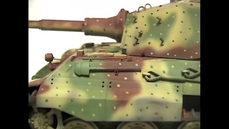 Plamo Tsukurou S2 Ep18 Dragon King Tiger Battle of the Bulge 1 35