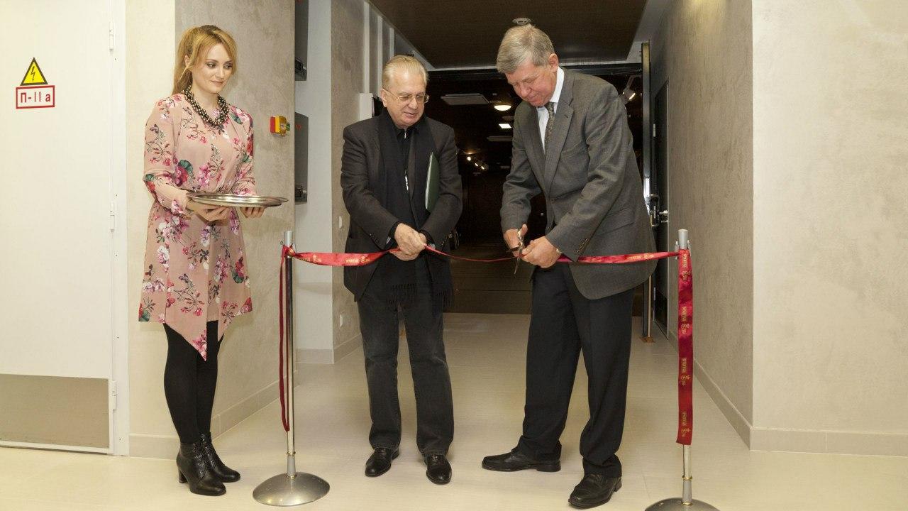на открытии выставки Михаил Пиотровский и Александр Чиженок (слева направо) Фото: hermitagemuseum.org