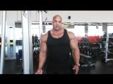 Мастер-класс Victor Martinez Тренировка трицепса