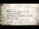 Nordahl Grieg - Til Ungdommen (med tekst) (with english captions)