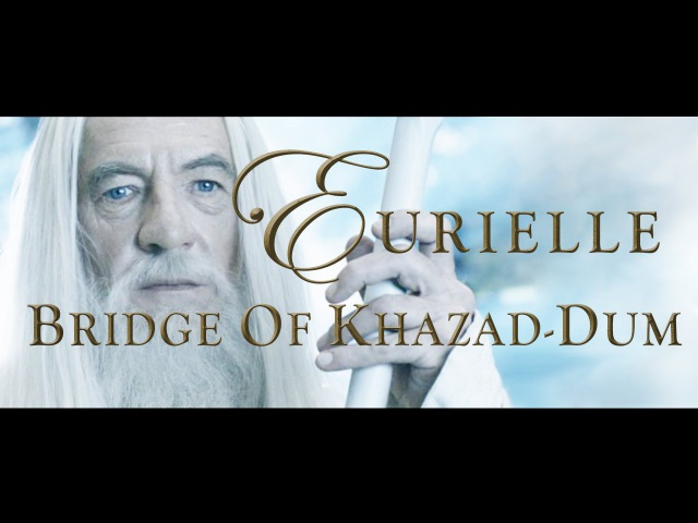 Lord Of The Rings (Part 4) Bridge Of Khazad-Dum by Eurielle (Inspired by J.R.R Tolkien)