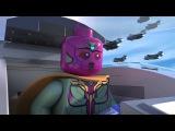 Лего марвел Мстители - мультсериал 2 серия HD