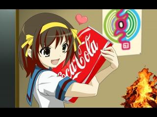 Flame Coca-Cola = 🔥🍶 Огонь Кока-Кола = / Эксперименты в домашних условиях [ПЯТЕРКА.РУ]