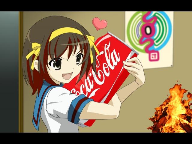 Огонь Кока-Кола = 🔥🍶 Эксперименты в домашних условиях ➄