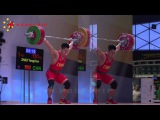 Zhao Yongchao (-85kg, China) - 156kg Snatch & 197kg Clean and Jerk