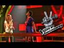 """Шоу """"Голос"""" Германия 2011-2012. - Иви Кюйану против Анники Рёкен с песней """"Viva La Vida"""". – """"The Voice"""" of Germany 2011-2012. -  Ivy Quianoo vs. Annika Röken: """"Viva La Vida""""."""