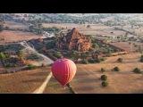 Balloon Flight Over Bagan, Myanmar in 4K (Ultra HD)