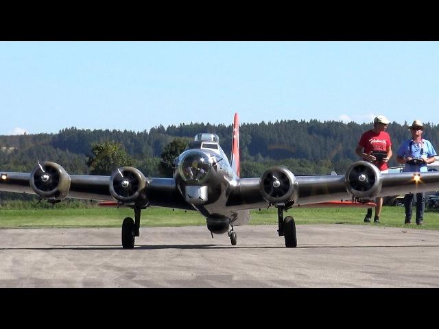 19 ft. B-17 Flying Fortress, P-47 Razorback, Corsair F4U
