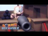 Worms Open Warfare 2 Movie #2 Galleon Intro (HD)