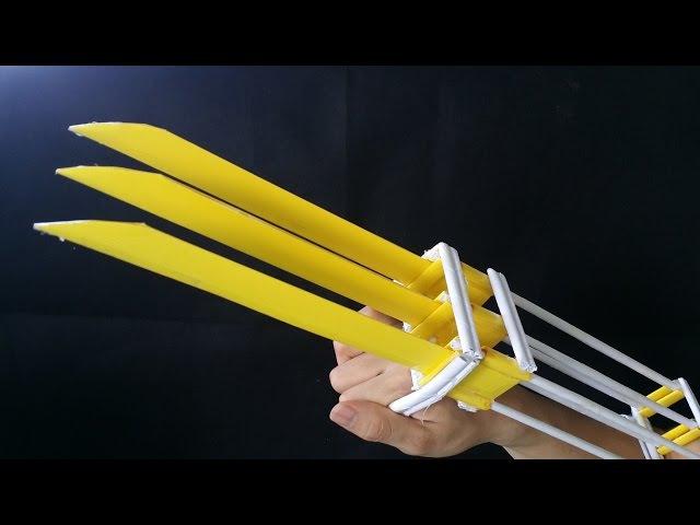 Как сделать когти Росомахи | бумага | X-men Wolverine