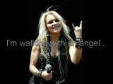 Doro feat. Tarja Turunen - Walking With The Angels (with lyrics)