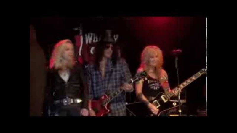 Lita Ford, Cherie Currie, Slash - Cherry Bomb (The Runaways), Whisky in Los Angeles 01-09-2013