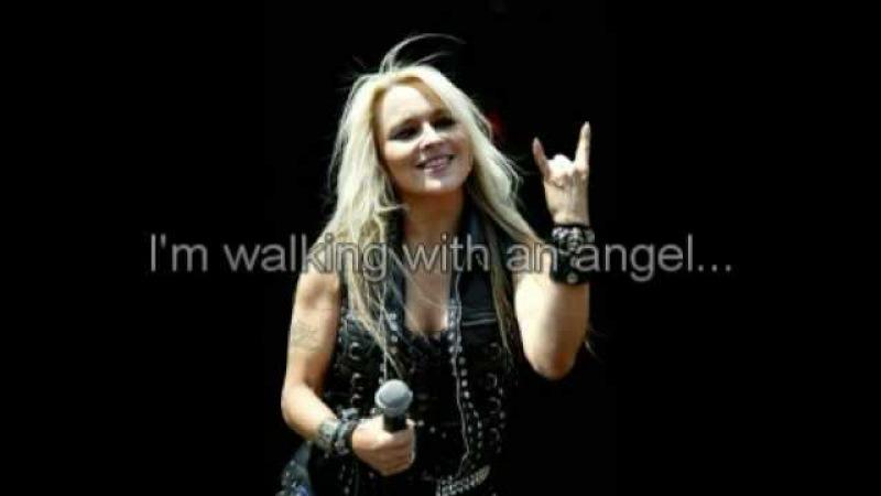 Doro feat Tarja Turunen Walking With The Angels with lyrics