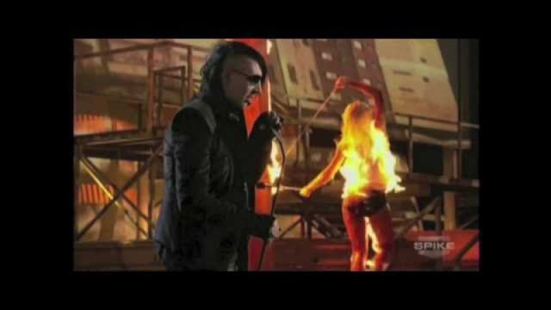 Action Factory Light Vampire On Fire - Scream Awards 2010