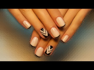 Уроки дизайна ногтей шеллак