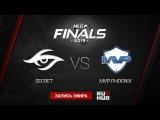 Team Secret vs MVP Phoenix MLG LAN FINALS Game 1 by GodHunt & n0Point