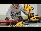 Большой Желтый Экскаватор Брудер. Большие игрушки для детей