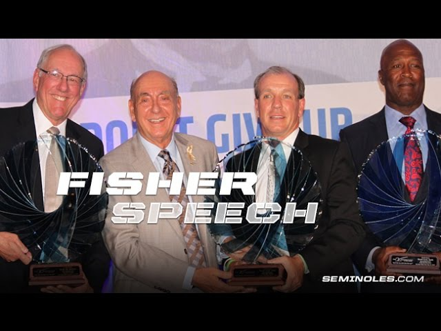 Jimbo Fisher's Dick Vitale Gala Speech