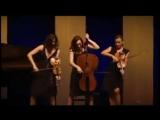 Девичий струнный оркестр! Смешно, красиво, талантливо!