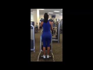 Aline Bernardes - Hot Posing - Bikini Model Legs and Butt Workouts - Female Fitness Model