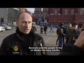 Николай Стариков на канале Aljazeera _ Кто организовал майдан.