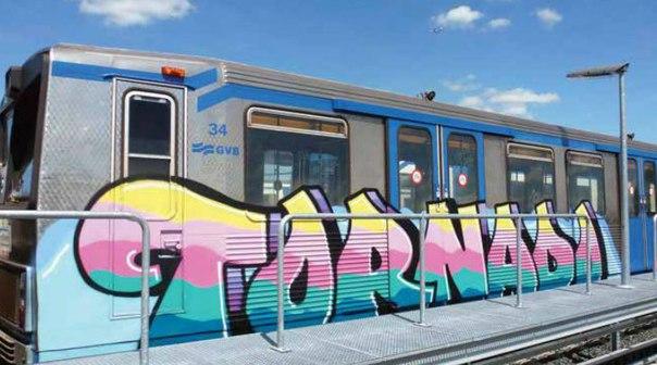 graffiti metro