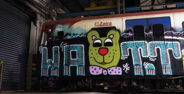 graffiti subway