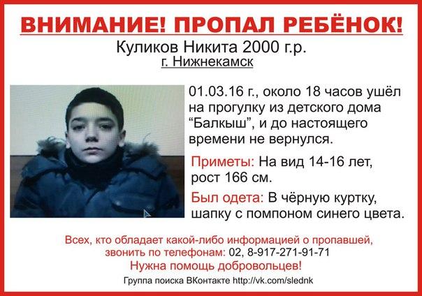 В Нижнекамске из социального приюта «Балкыш» пропали двое воспитанников
