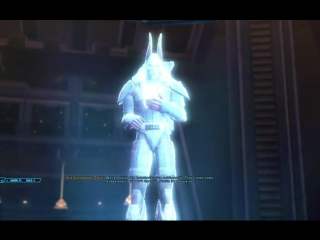 Cutscene from SWTOR: Rise of the Hutt Cartel Expansion – Male Imperial Agent