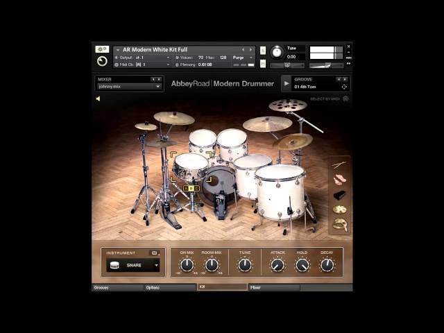 NI Abbey Road Modern Drummer metal test by ForTiorI