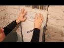 Установка смывного бачка скрытого монтажа GEBERIT UP182 в нишу Установка инсталляции