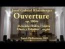 J. Rheinberger Ouverture / Й. Рейнбергер Увертюра