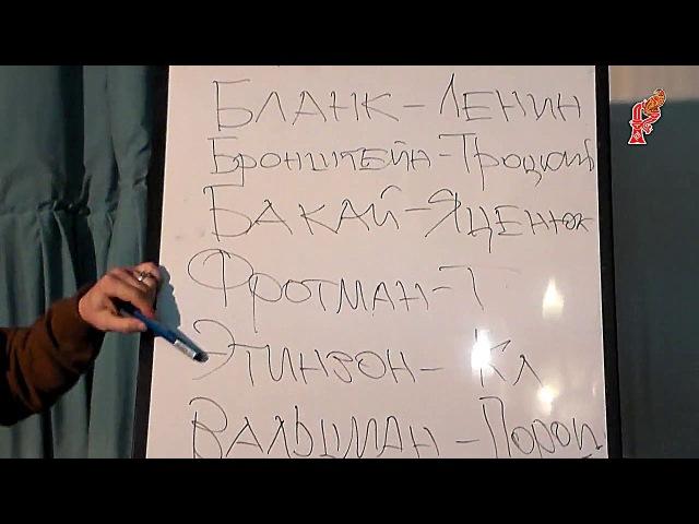 Сергей ДАНИЛОВ - Что изменилось - Бланк, Бронштейн, Бакай, Этинзон, Фротман, Вальцман - с 988 года