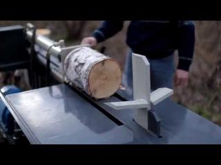 Высокоскоростной дровокольный станок гидравлический Горыныч