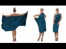 Платье в римском стиле на одно плечо платье трансформер Лунги