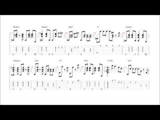 The night has a thousand eyes (Earl Klugh) - transcription