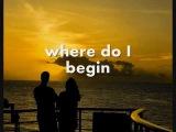 LOVE STORY (Where Do I Begin) - Andy Williams (Lyrics)
