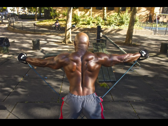 HIT'S FULL BODY WORKOUT WITH CALISTHENICS RUBBERBANDITZ RESISTANCE BANDS