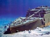 Следы неизвестных механизмов(в океане)и затонувший ТИТАНИК