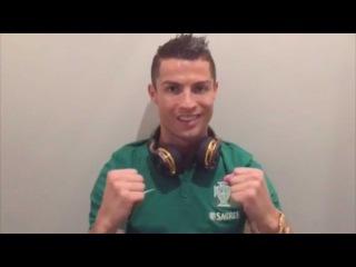 Cristiano Ronaldo-Good vibes for the game vs Denmark