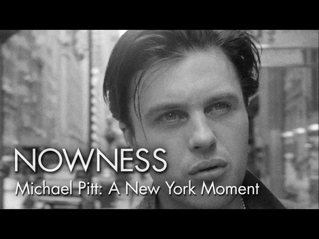 Michael Pitt in A New York Moment by Glen Luchford