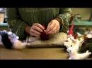 How to Needle Felt - Ornament Series: Santa by Sarafina Fiber Art