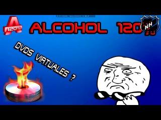 Как смонтировать образ в Alcohol 120% на вирт. привод и записать образ c игрой или программой