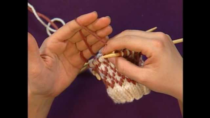 Managing Yarns for Colorwork - Knitting Daily TV Episode 306 with Eunny Jang