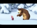 Маша и Медведь - Следы невиданных зверей (Серия 4) [720p]