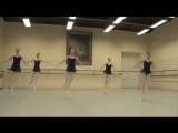 Schoolgirls are 15 years old! ! Video is worthy admiration!Vaganova 5- class М.А. Gribanova