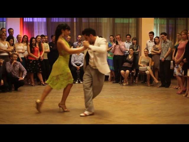 Celeste Medina y Rodrigo Fonti in Milonga El Calor
